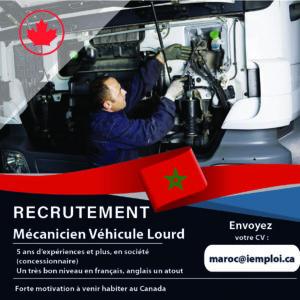 Mécanicien véhicule lourd